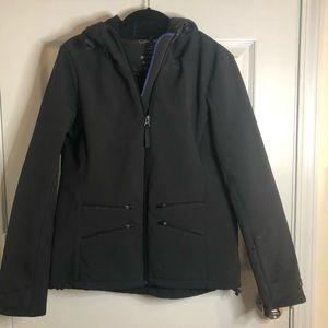 Calvin Klein Performance Zip Hooded Coat Black M